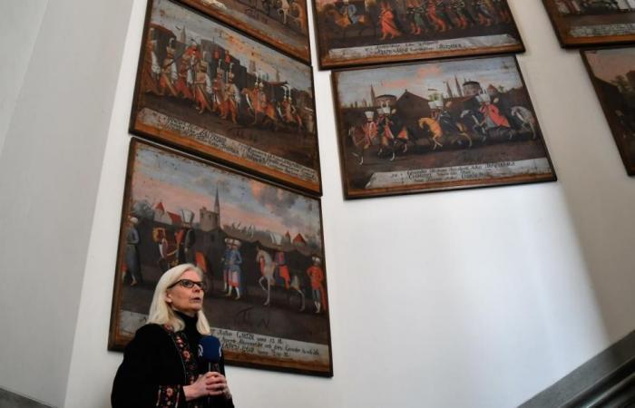 لوحات تُصوّر رحلات صيد سلطان عثماني بمتحف سويدي