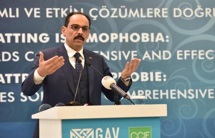 """تركيا: الإسلاموفوبيا """"محرقة"""" جديدة بالغرب"""