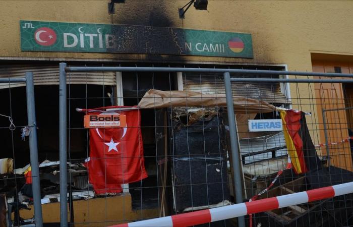 هجوم على مسجدين ومركز للجالية التركية بألمانيا