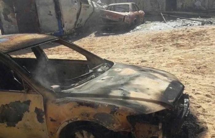 إصابة 3 جنود في تفجير سيارة ملغومة جنوب أجدابيا