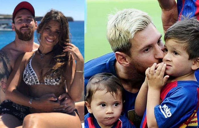 بالصورة: زوجة ميسي تنشر صورتهما الأولى مع ابنهما الجديد!
