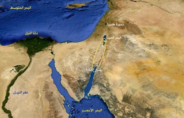 مصر تطرح مشروع خط حديدي لربط المتوسط والأحمر