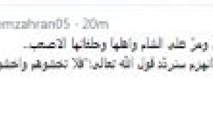 زهران عن الضربة المحتملة: فلا تخشوهم..