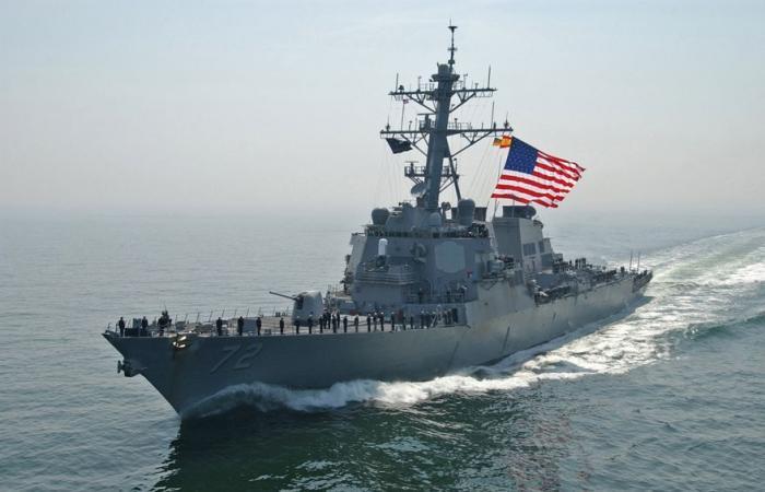 بالصور.. سفن حربية أميركية ترابط قبالة سواحل سوريا