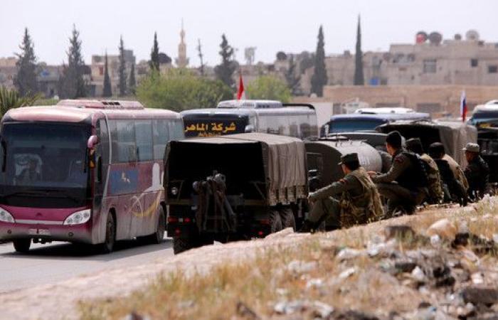 خروج دفعة جديدة من جيش الإسلام من دوما والإجلاء مستمر