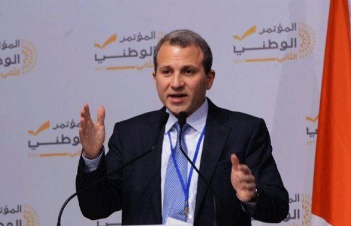 باسيل: لبنان بلد لا يعيش بالخلل بل بالتوازن