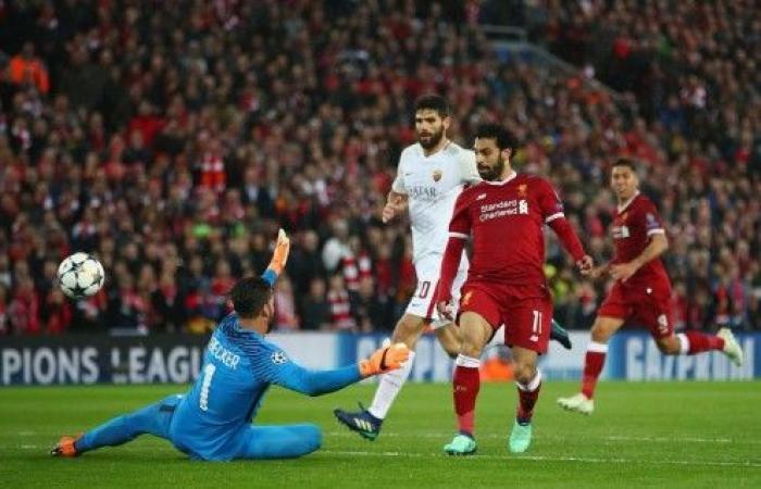 ليفربول يفوز بخماسية على روما