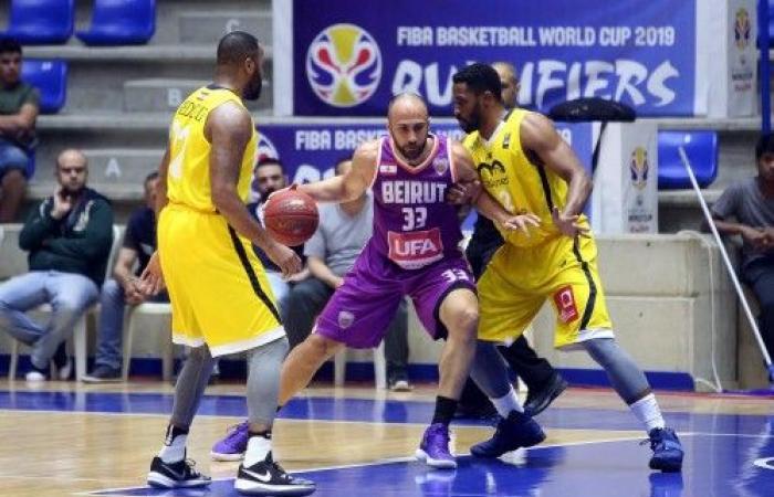 بيروت يستعيد توازنه في الدور قبل النهائي للدوري
