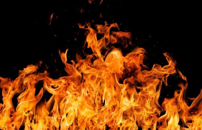 بالصورة… حريق في قرطبا