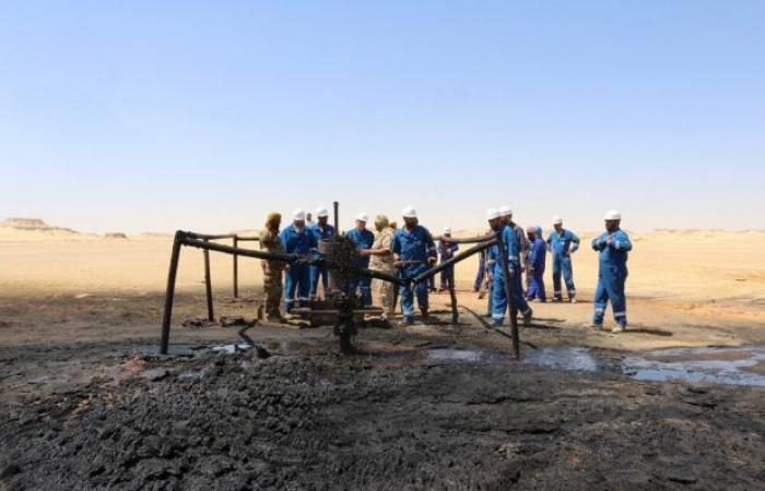 عودة خط نقل النفط الخام الزقوط – السدرة إلى العمل بعد تعرضه لحريق نتيجة عمل تخريبي