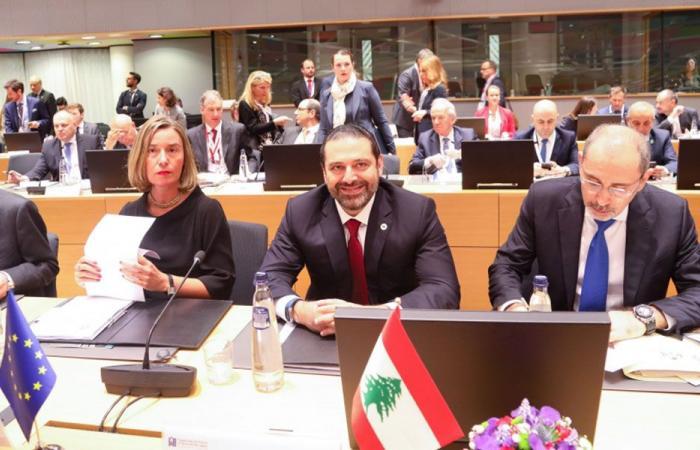 رفضٌ لبناني لبيان مؤتمر بروكسل