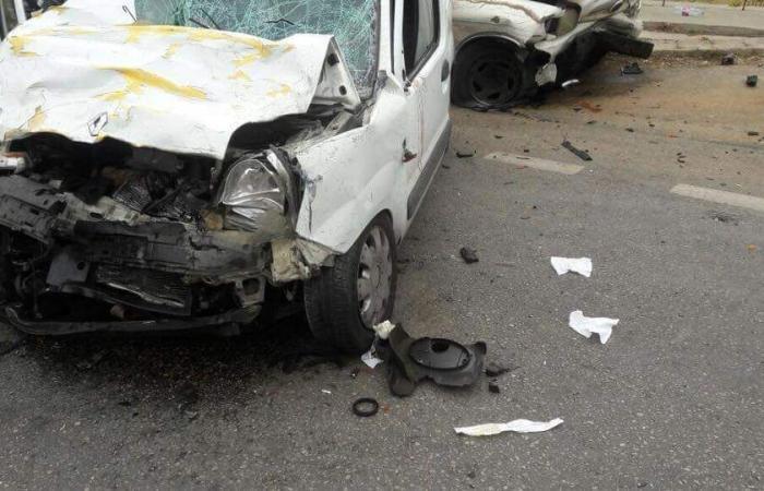 بالصورة… جريحان بحادث سير في ريفون