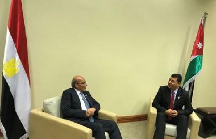 وزير الزراعة يبحث مع نظيره الأردني ووزير التغير المناخي الإماراتي تكثيف التعاون