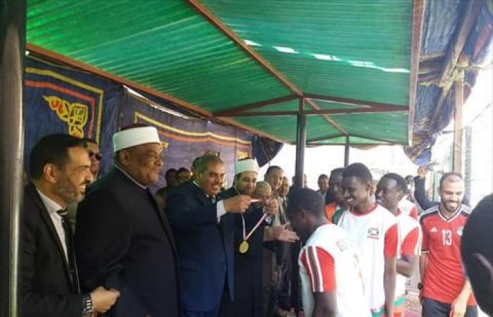 بوروندي تحزر كأس المحبة والسلام في نهائي معهد الدراسات الأزهري