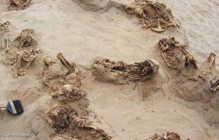 إكتشاف رفات 140 طفلا قتلوا بطريقة وحشية قبل 500 عام !