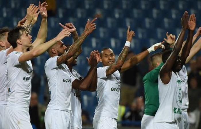 سانت اتيان إلى المركز الخامس من الدوري الفرنسي