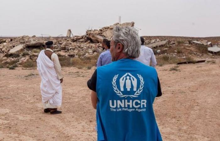 مفوضية الأمم المتحدة لشؤون اللاجئين تزور منطقة القواليش وتناقش احتياجات المنطقة