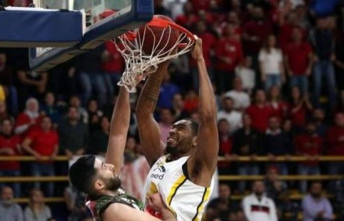 هومنتمن بطلاً لكأس لبنان في كرة السلة