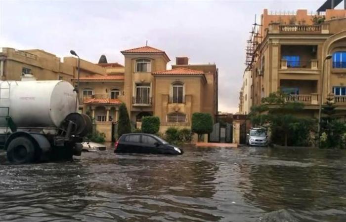 نائب رئيس «المجتمعات العمرانية» للنيابة: أمطار القاهرة الجديدة أكبر من قدرات محطات الرفع
