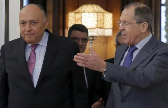اجتماع وزراء خارجية ودفاع مصر وروسيا فى موسكو 14 مايو الحالى