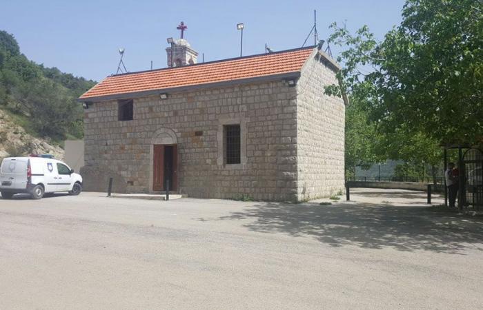 كنيسة مار نهرا – كسروان تتعرض للسرقة