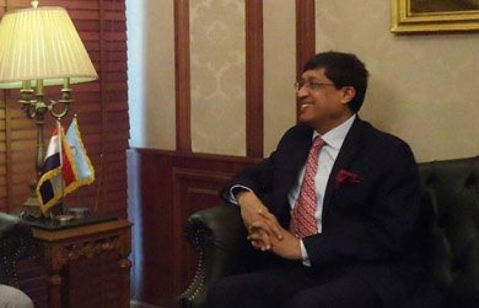 السفير الهندى بالقاهرة: الفول والطعمية طعامى الرئيسى