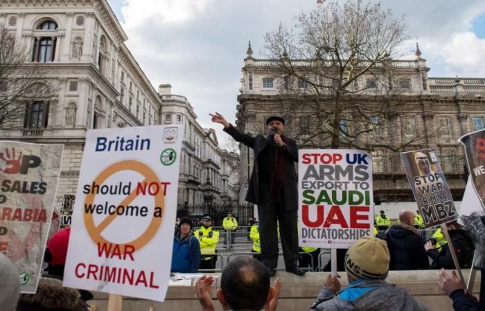 حكم بلندن يفرح مناهضي تصدير السلاح للسعودية