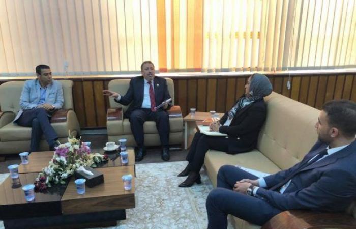 مجموعة من أجلك ليبيا تجتمع برئيس جامعة طرابلس لمناقشة مشاكل الطلبة النازحين