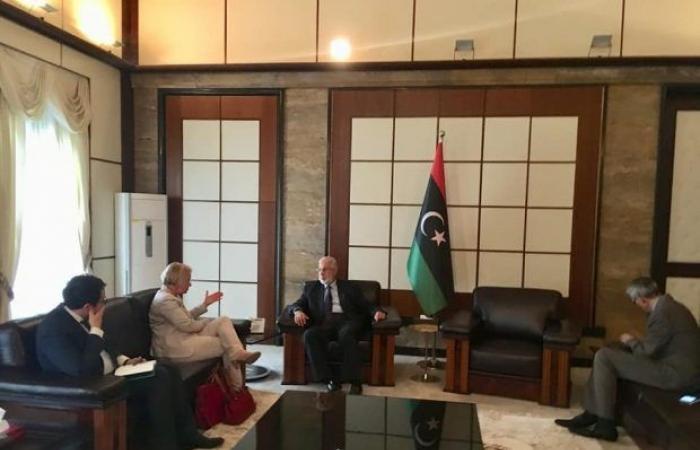 سفيرة الاتحاد الأوروبي تلتقي وزير الخارجية محمد سيالة لبحث تطورات الوضع في ليبيا
