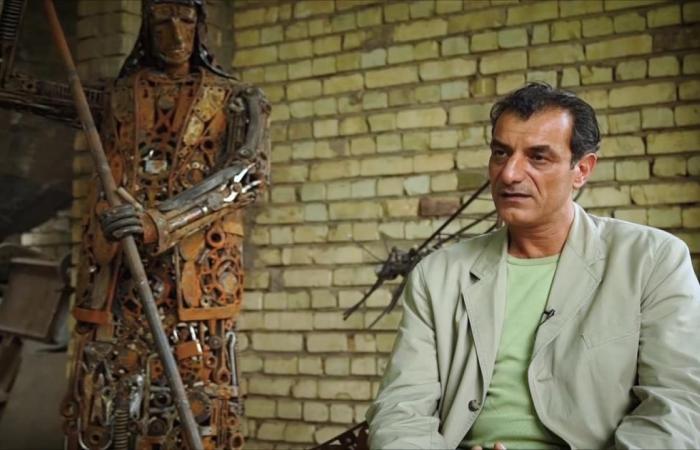 هذا الصباح- تشكيلي عراقي يبدع في الفن البيئي