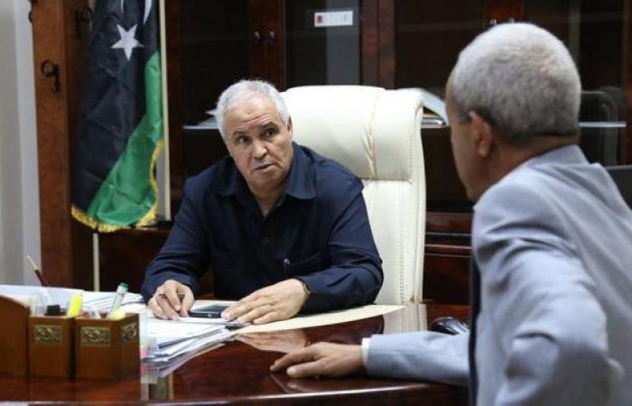 جلالة يُناقش مع رئيس محلي تاورغاء الإجراءات التنفيذية لاتفاق مصراته وتاورغاء