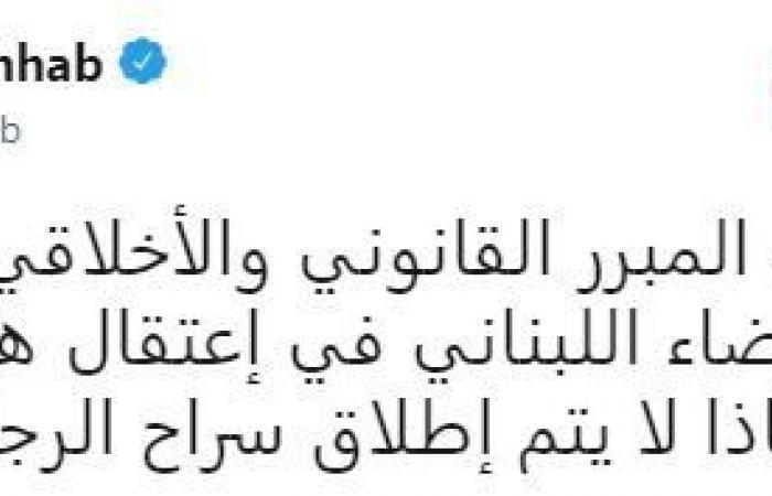 وهاب: لماذا لا يتم إطلاق سراح القذافي؟