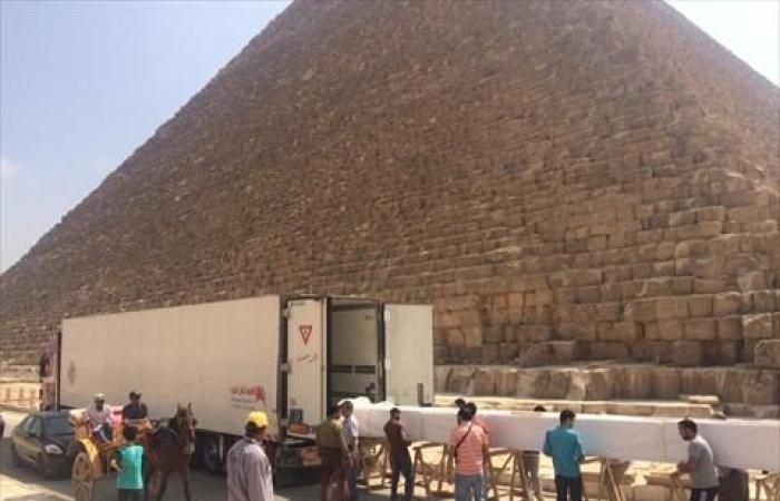 بالصور.. المتحف المصري الكبير يستقبل 180 قطعة أثرية جديدة