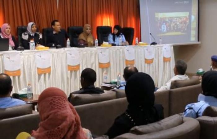 اجتماع لضابطات الشرطة بالمنطقة الغربية ضمن فعاليات حملة ليبيا السلام في صبراتة