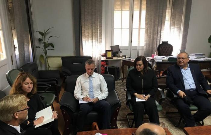 نائب وزير الزراعة تستقبل السفير النيوزيلاندي بالقاهرة