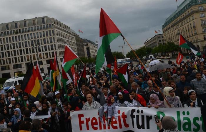 في ذكرى النكبة.. يهود يتظاهرون دعما لحقوق الفلسطينيين