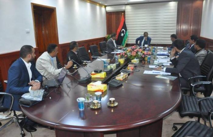 وزير العدل يلتقي وكيل شركة «تويوتا» في ليبيا وموزع الوكيل بليبيا