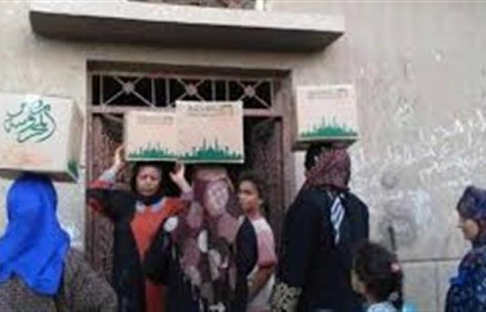 «التضامن»: توزيع 4 ملايين كرتونة رمضانية تحوي 60 ألف طن مواد غذائية