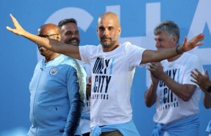 غوارديولا يفوز بجائزة اتحاد المدربين لأفضل مدرب