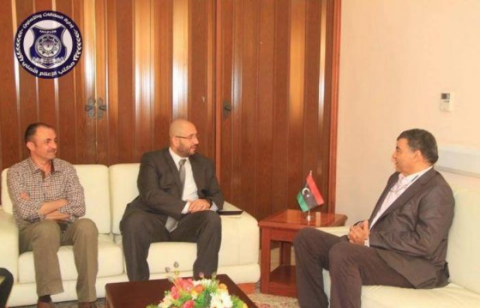 وزير الداخلية يلتقي رئيس المنظمة الدولية للهجرة في ليبيا