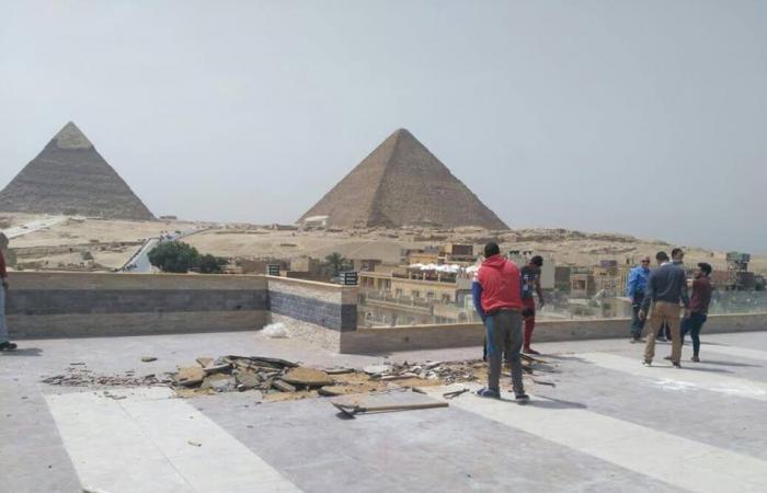 بالصور.. «الآثار» تزيل التعديات على الآراضي الأثرية التابعة لها
