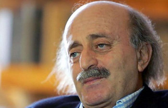 جنبلاط بحث مع بونافون أوضاع لبنان والمنطقة