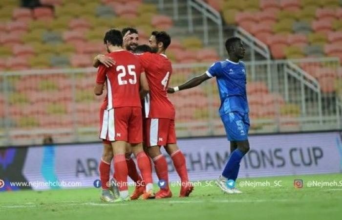 النجمة يكتسح الوئام الموريتاني في تصفيات البطولة العربية