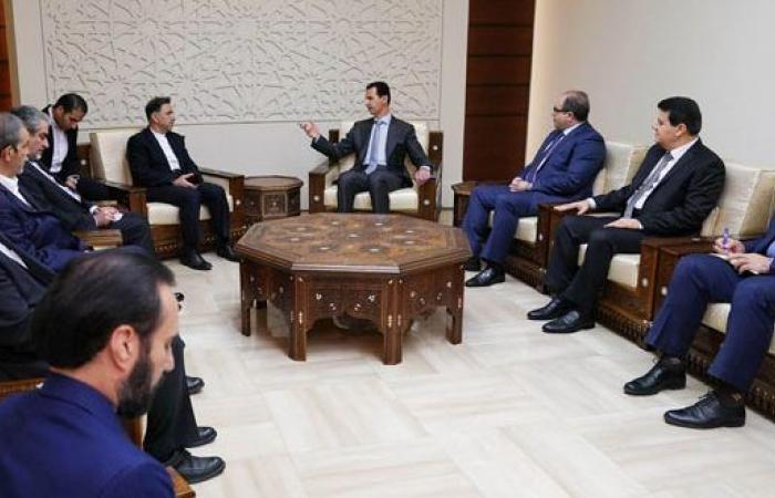 الأسد: التعاون الاقتصادي بين دمشق وطهران من أهم سبل مقاومة المشاريع الغربية