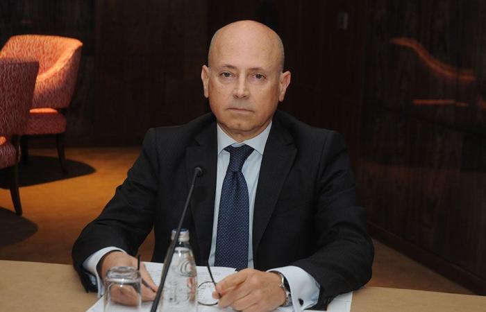 السفير الايطالي في بيت الوسط