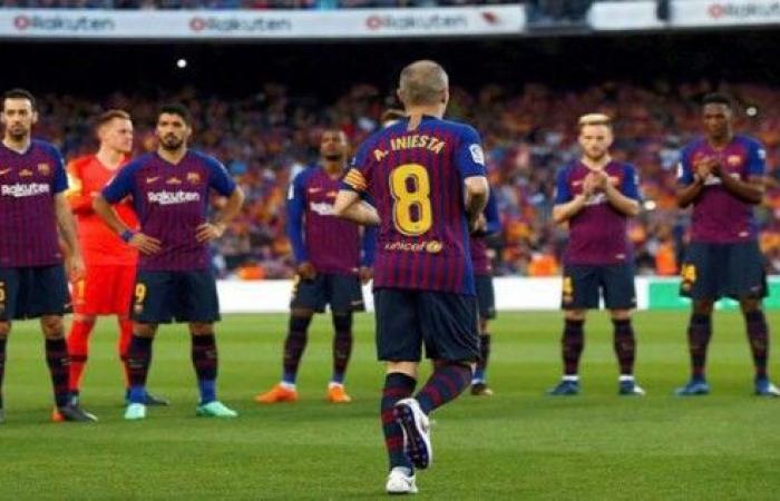 في ليلة وداع إنييستا، برشلونة يفوز على سوسيداد في ختام مباريات المرحلة الاخيرة من الدوري الإسباني.