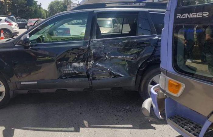 جريحة بحادث سير في عجلتون
