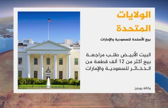 الكونغرس يراجع بيع أسلحة للسعودية والإمارات