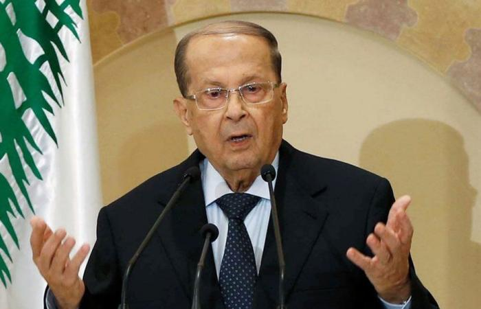 عون: ليجسّد المجلس الجديدإرادة اللبنانيين