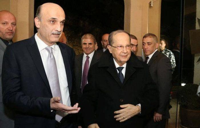 """عون لجعجع: """"سنكمل سوا""""!"""